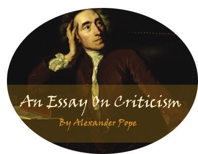 Alexander pope s an essay on criticism w r i t i n g pinterest