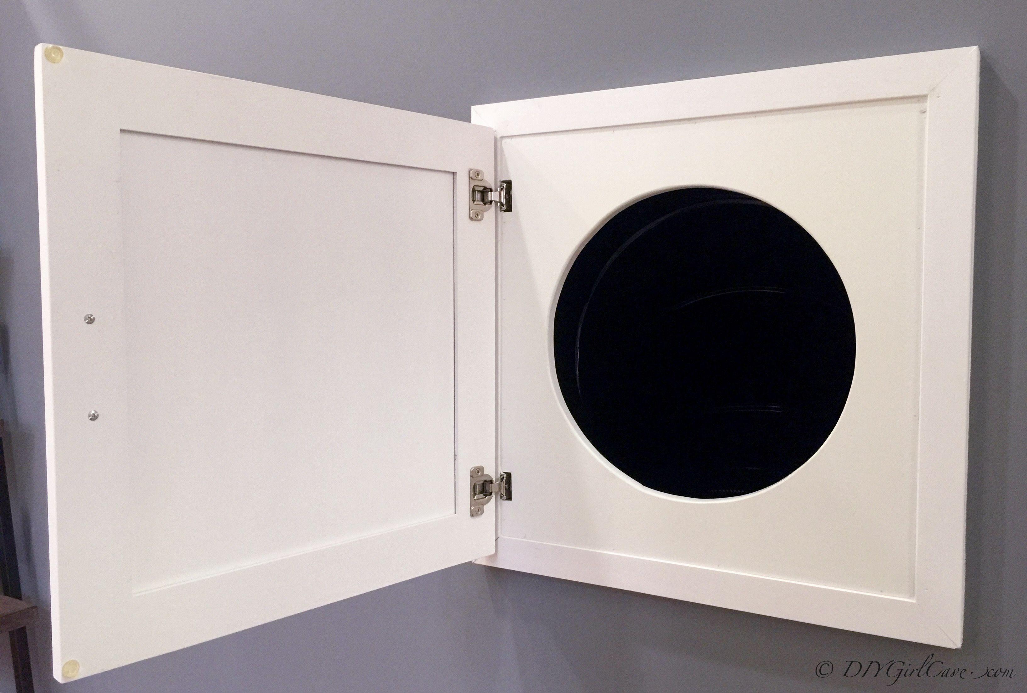 Home design trends 2015 hidden door laundry chute