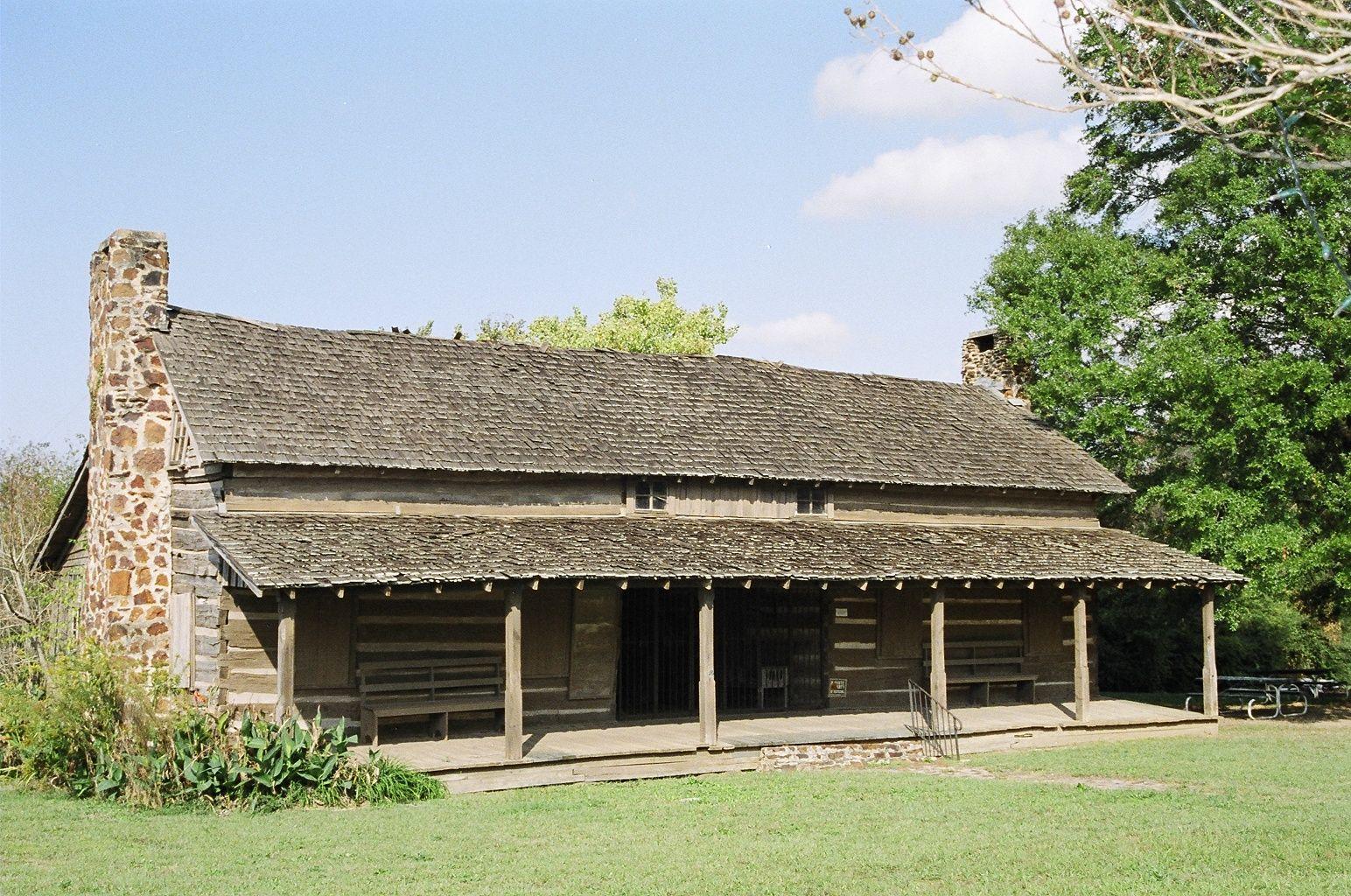 Log Cabin   Millardu0027s Crossing, Nacogdoches, TX (East Texas Film Commission)