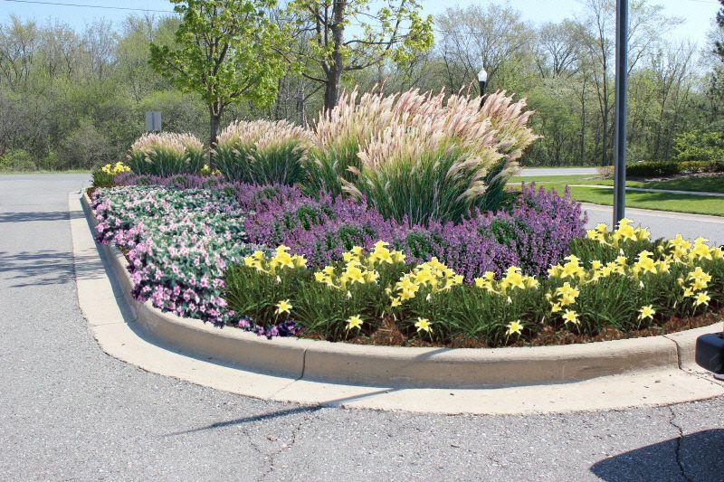 Whittaker Village Landscaping Entrance Commercial Landscape Design Front Entry Landscaping