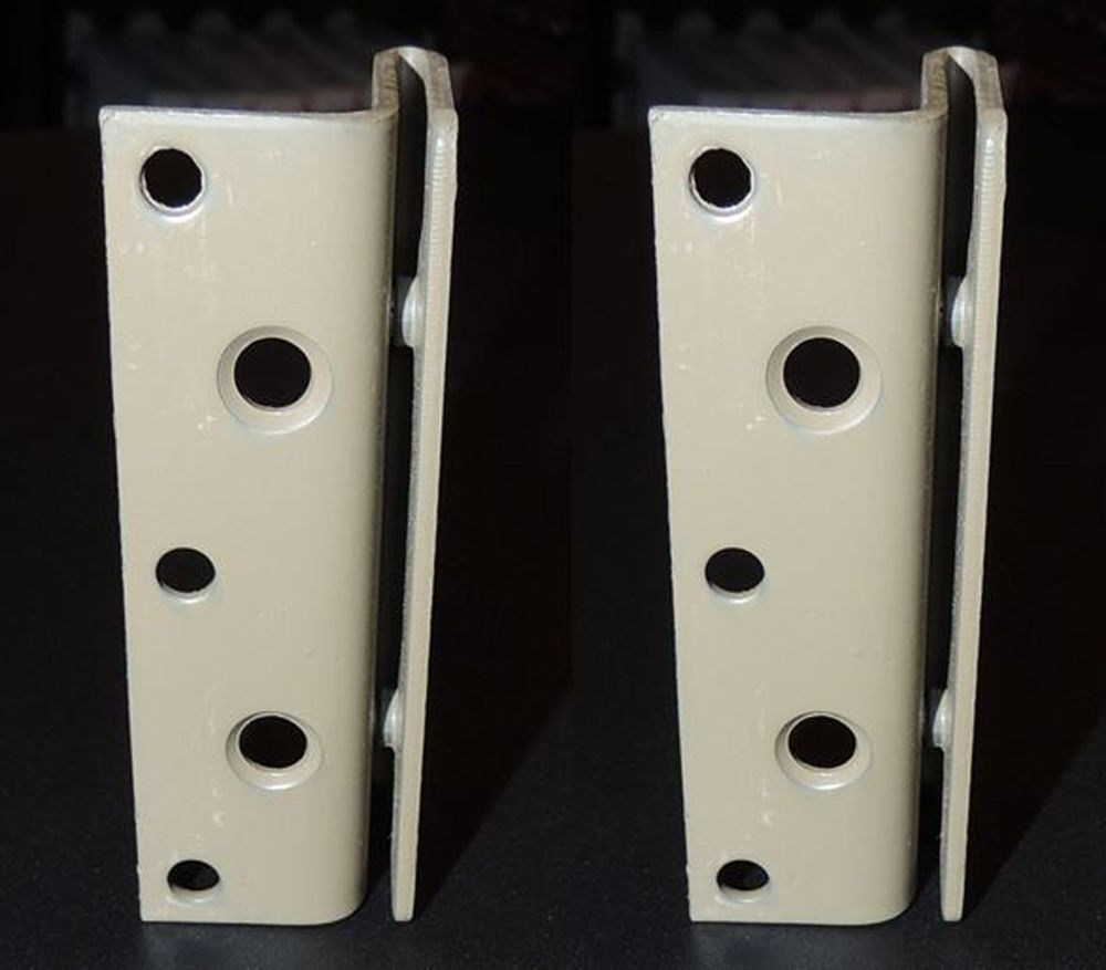 Pair Of Bed Frame Bed Post Double Hook Brackets Bed With Posts