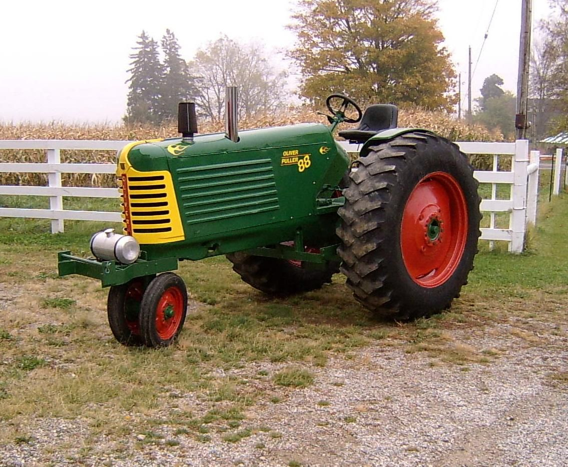 Oliver Tractor Decals : Oliver super tractor parts engine and