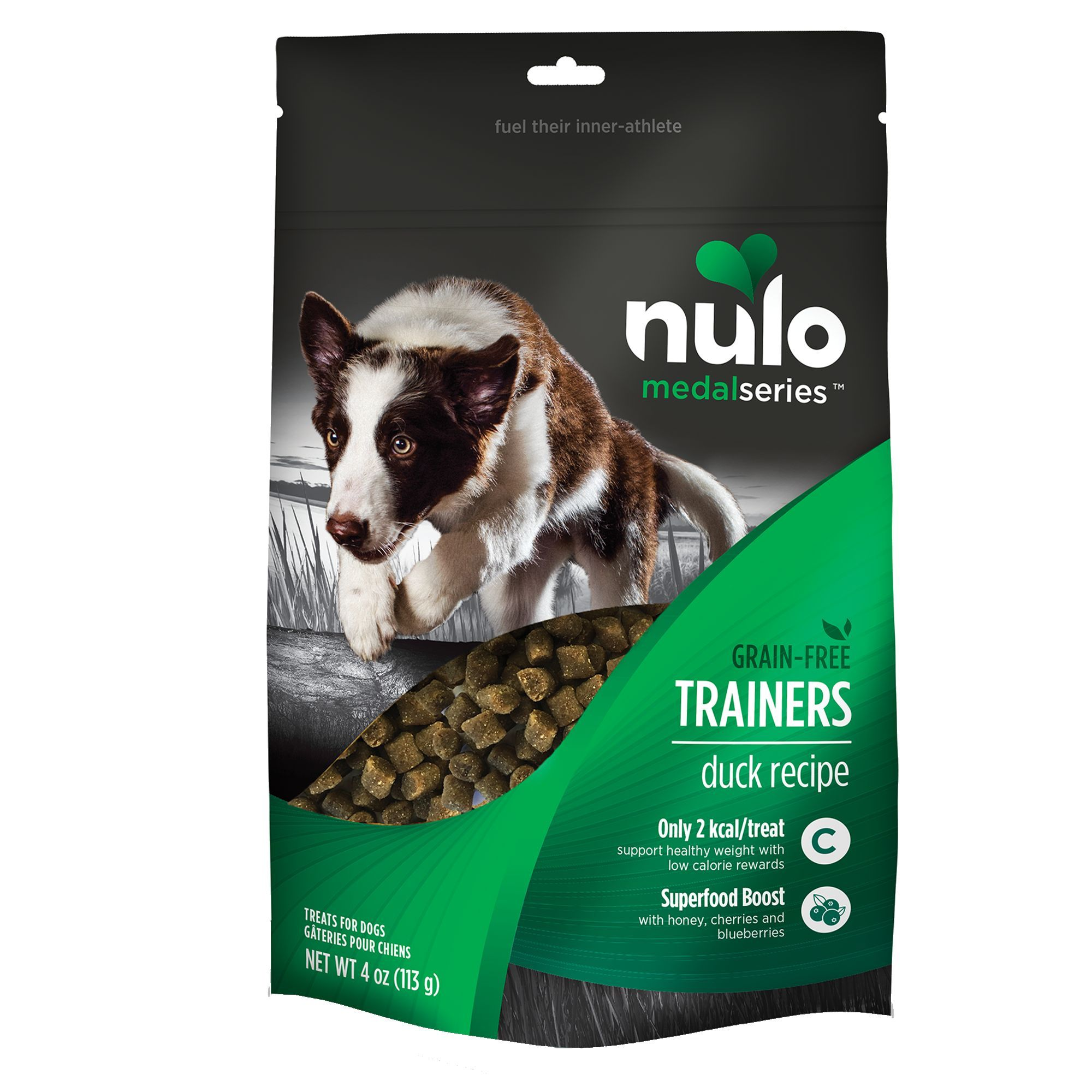 Nulo Medalseries Trainers Dog Treat Natural Grain Free Duck