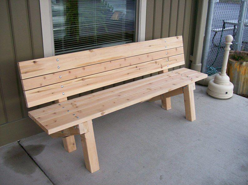 Outdoor Wooden Bench Plans Modern House Decorating Design Ideas