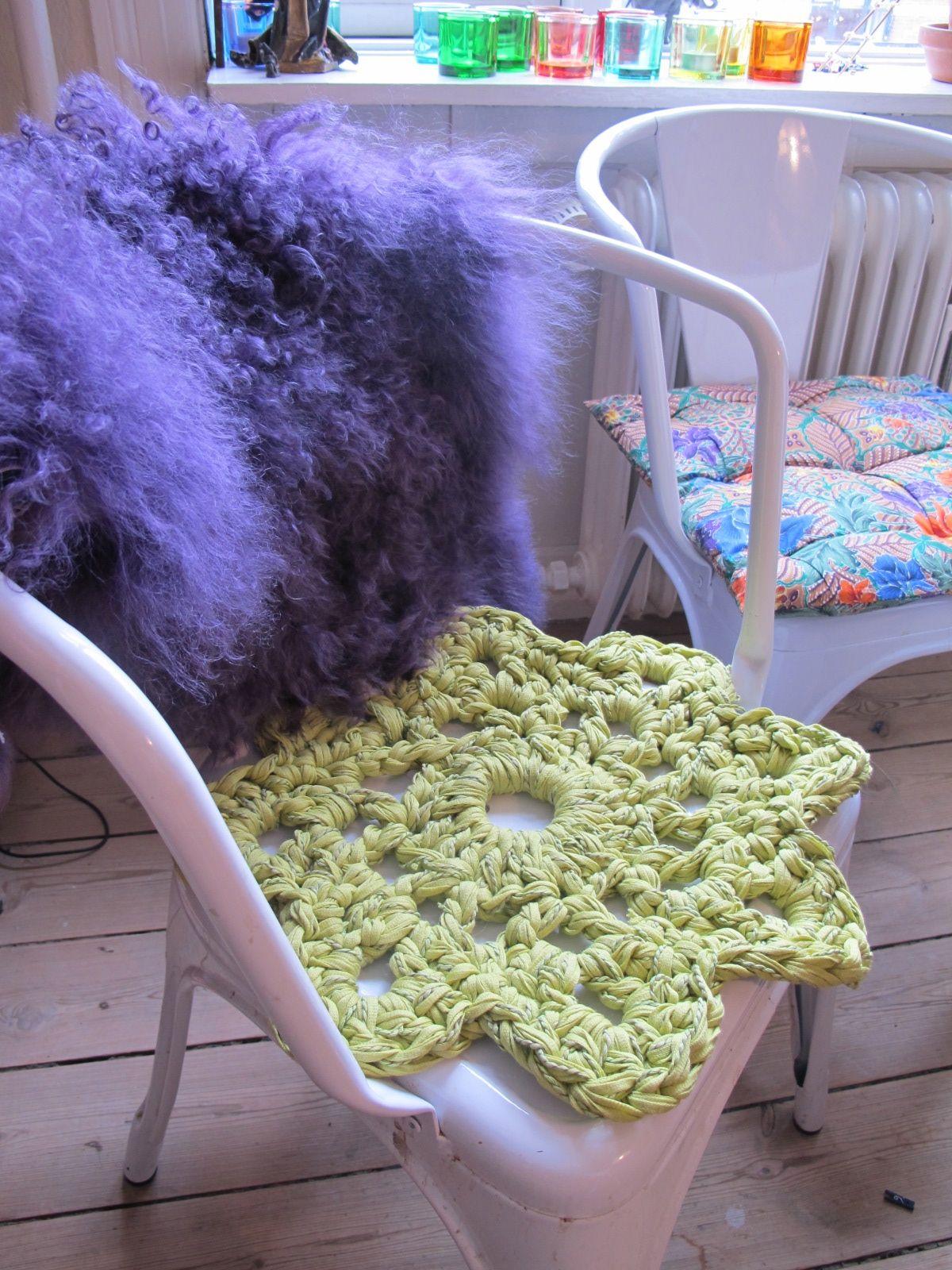 Mega doily cusion, crochet | to chrochet | Pinterest