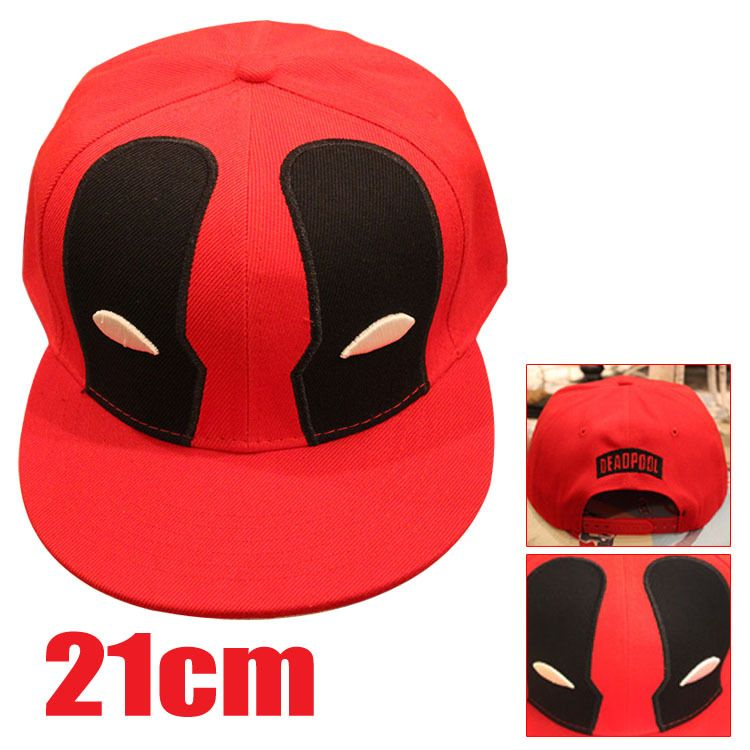 36071dd0854b9 ... movie peripherals Deadpool black and red hat 3 different styles for  your selection HT108