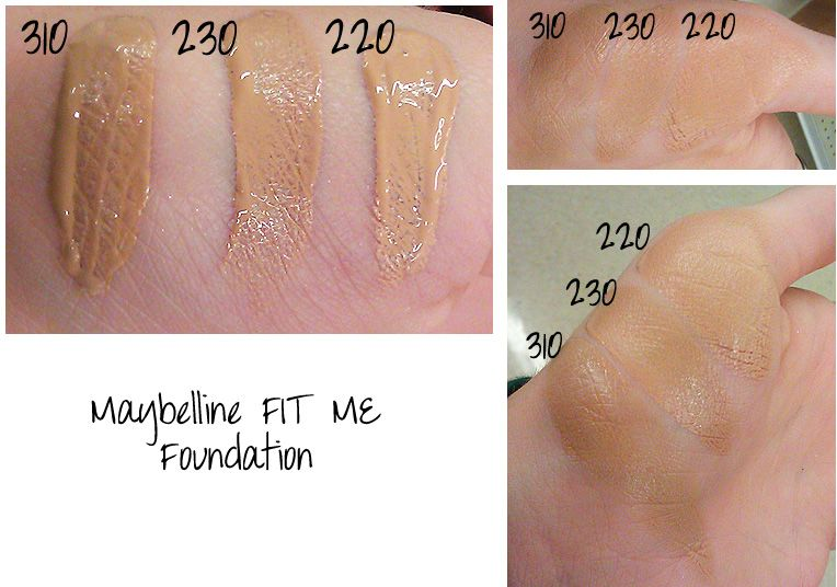 Fit Me Matte + Poreless Foundation by Maybelline #10