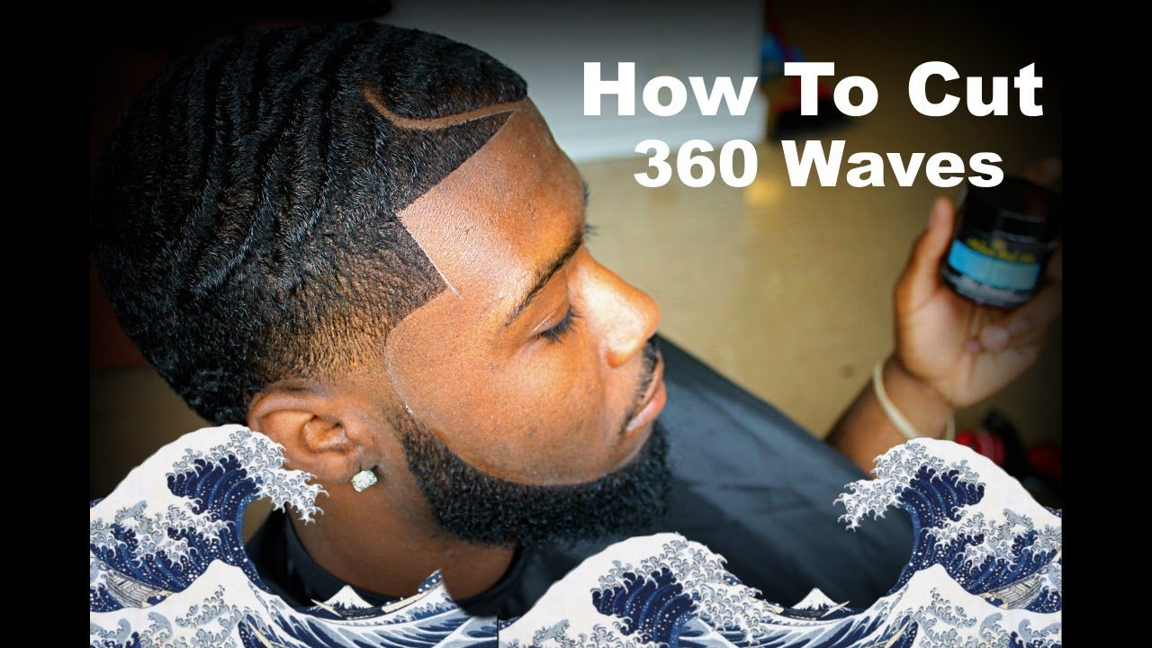 Barber Tutorial How To Cut 360 Waves With A Part Hd Paul George
