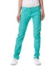 Terranovastyle.com - Pantalone lungo in drill elasticizzato tinta unita. Modello basico 5 tasche, chiusura con zip e bottone