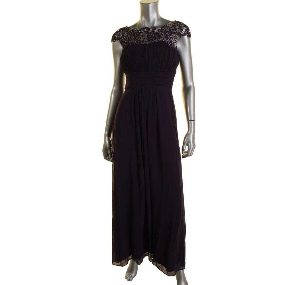 Ever pretty womens chiffon embellished evening dress products