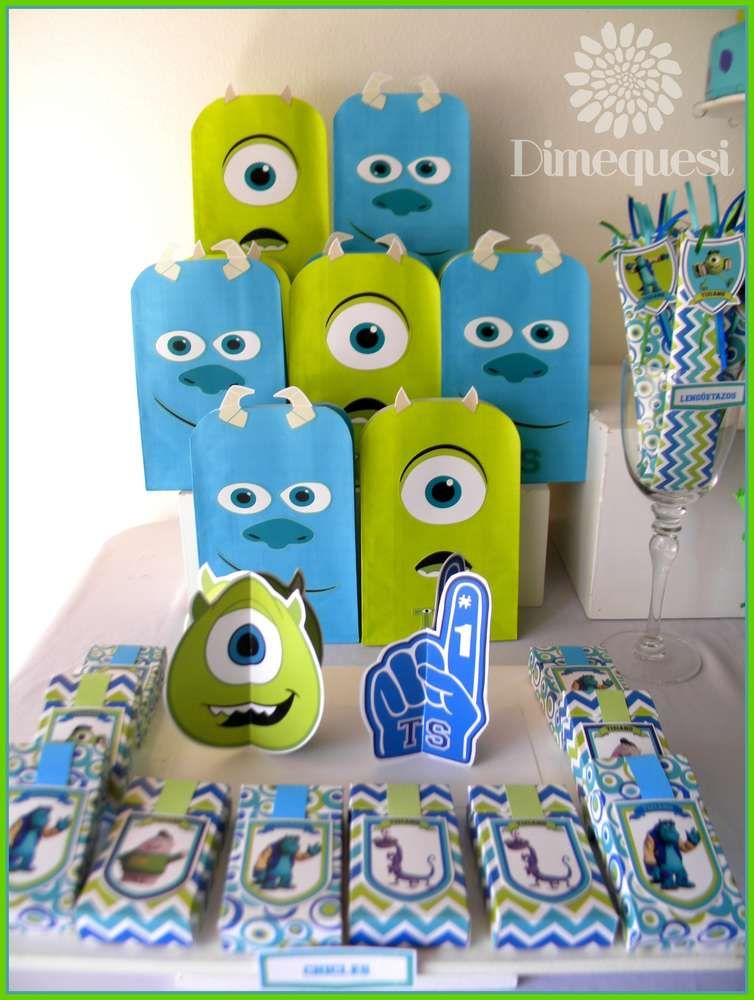 Monsters Inc Birthday Party Ideas Monsters Birthdays and