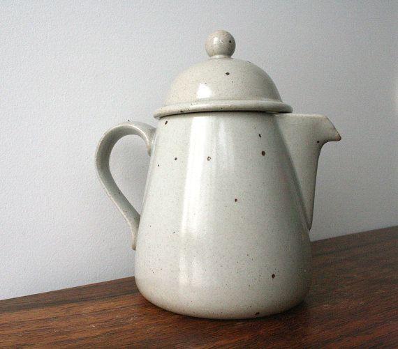 Dansk stoneware coffee pot - 1970's