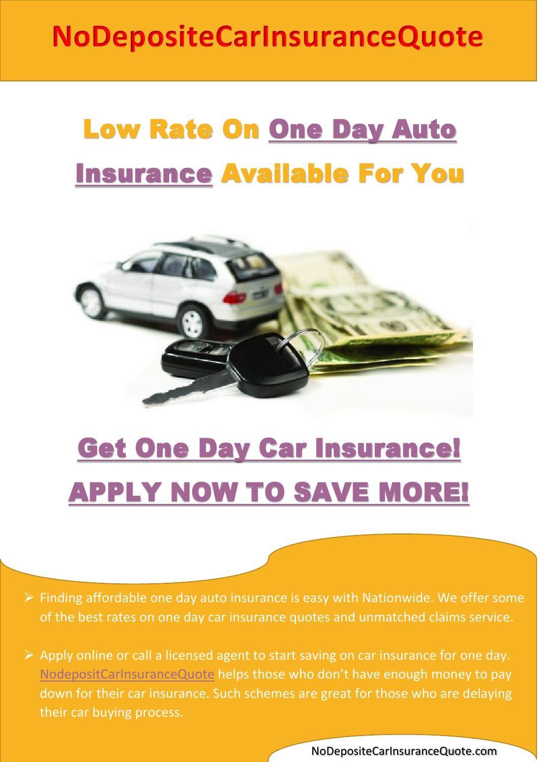 One Day Car Insurance One Day Car Insurance Car Insurance Cars