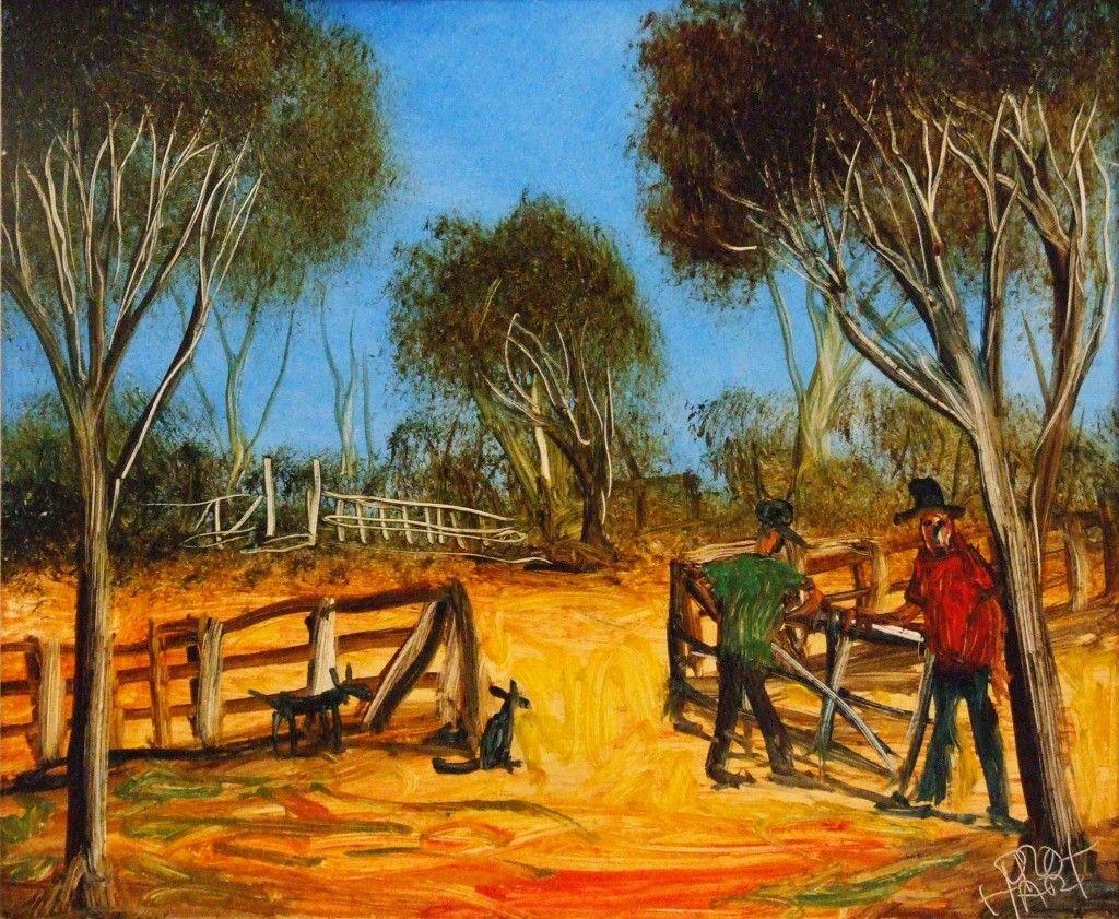 Australian contemporary art kevin charles pro hart