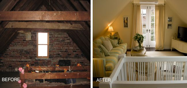 Attic Remodeling Before And After Renovation Toronto