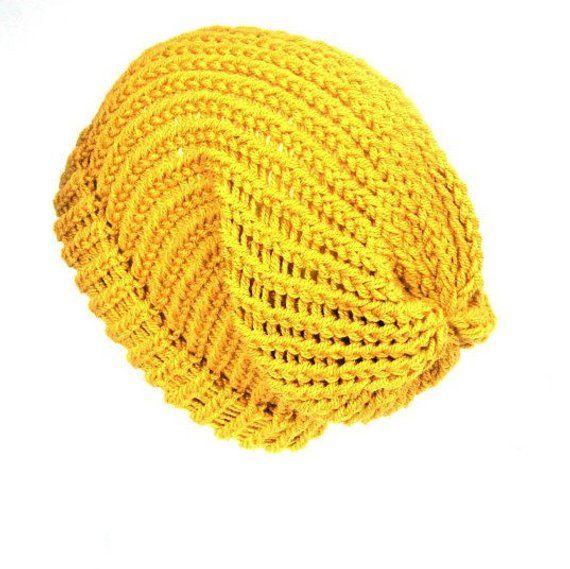 240521ed895 Mustard yellow slouch beanie