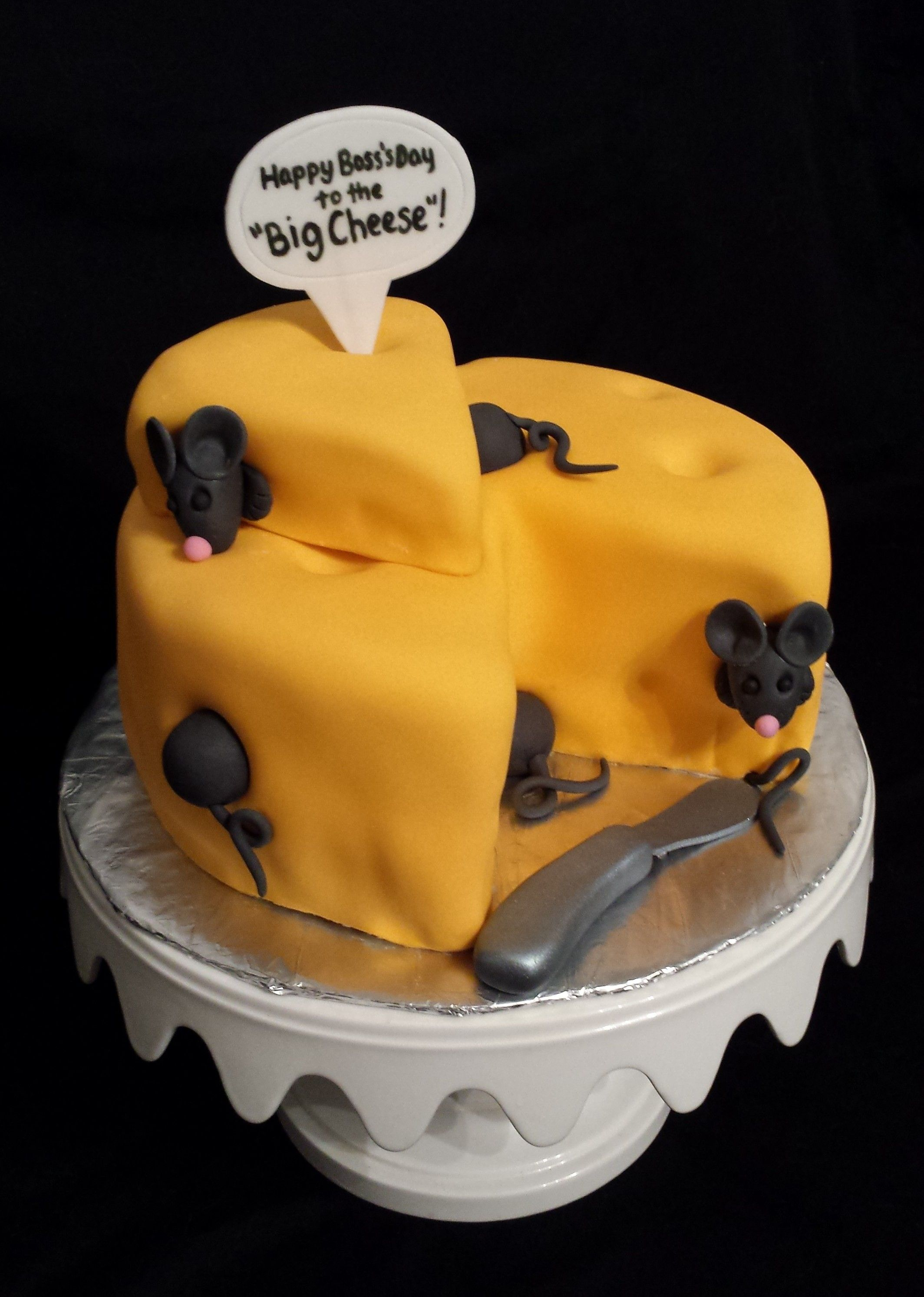 In Light Of Boss S Day Tomorrow Oct 16th By Badabing Cakes