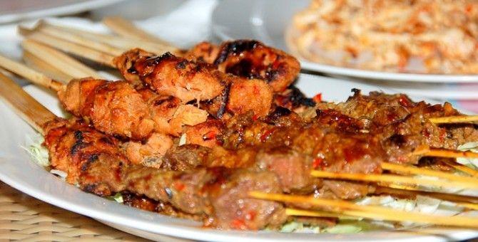 Sate Klathak Bubblews Cantonese Cuisine Bali Food Food