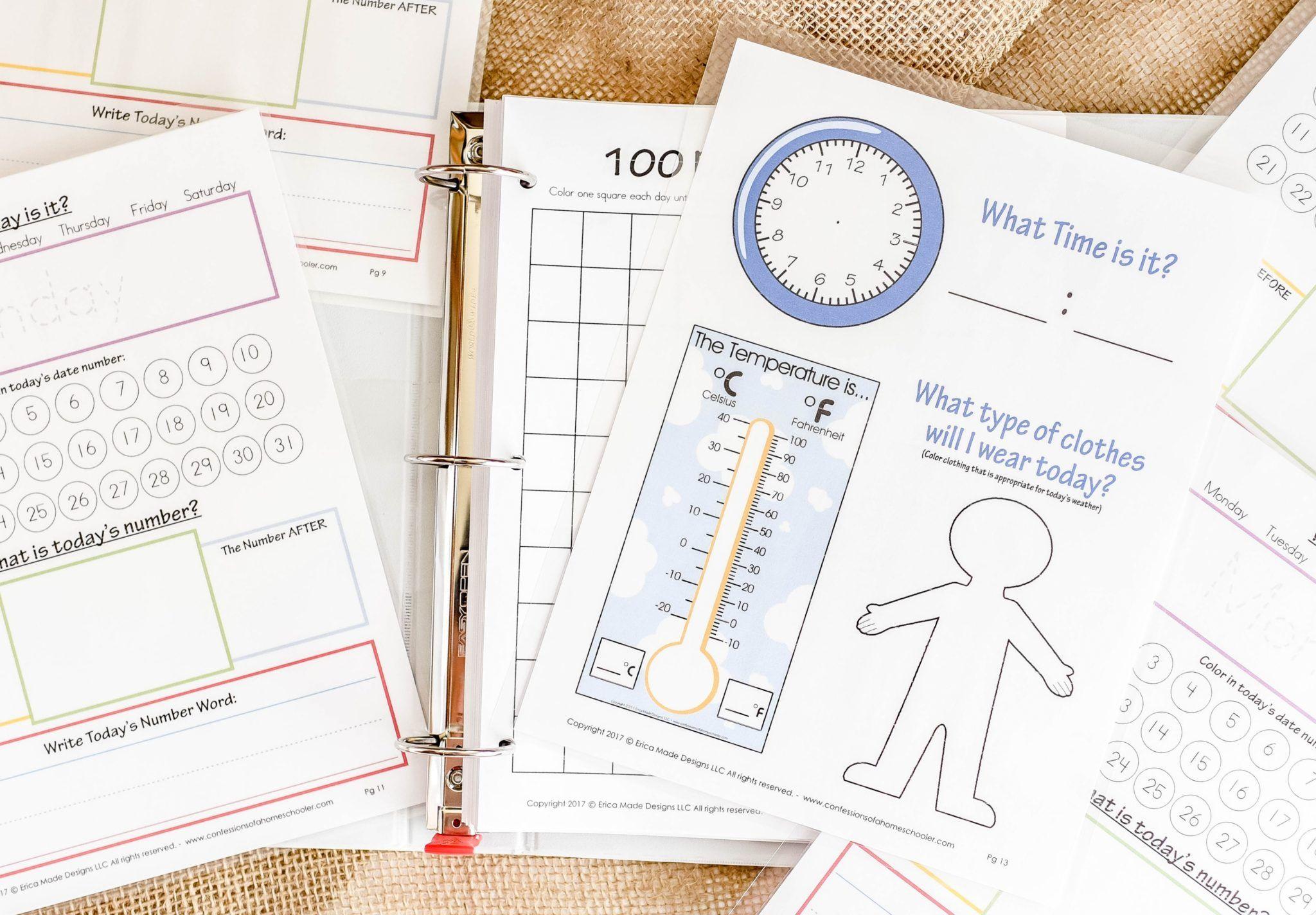 Kindergarten Amp Preschool Worksheets