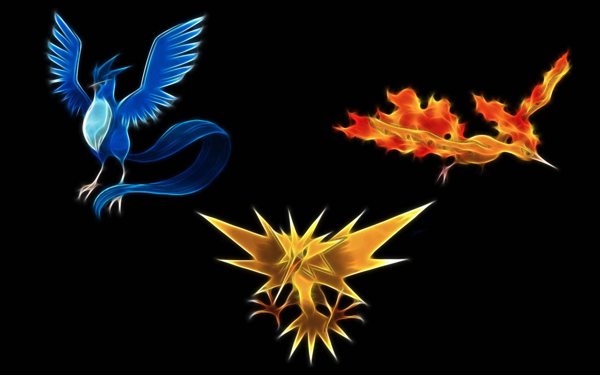 de042def The legendary birds, Articuno, Zapdos, and Moltres!!! | Pokémon ...