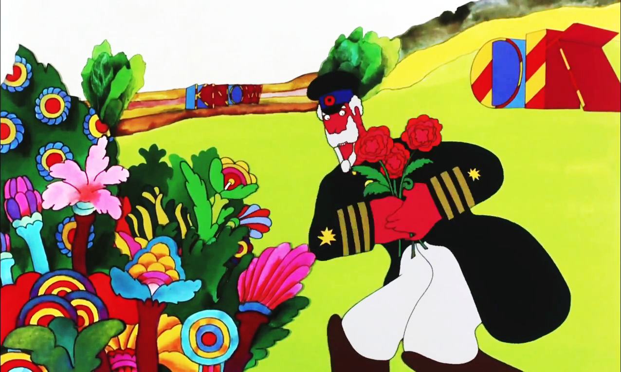 Beatles Yellow Submarine Flowers Topsimages