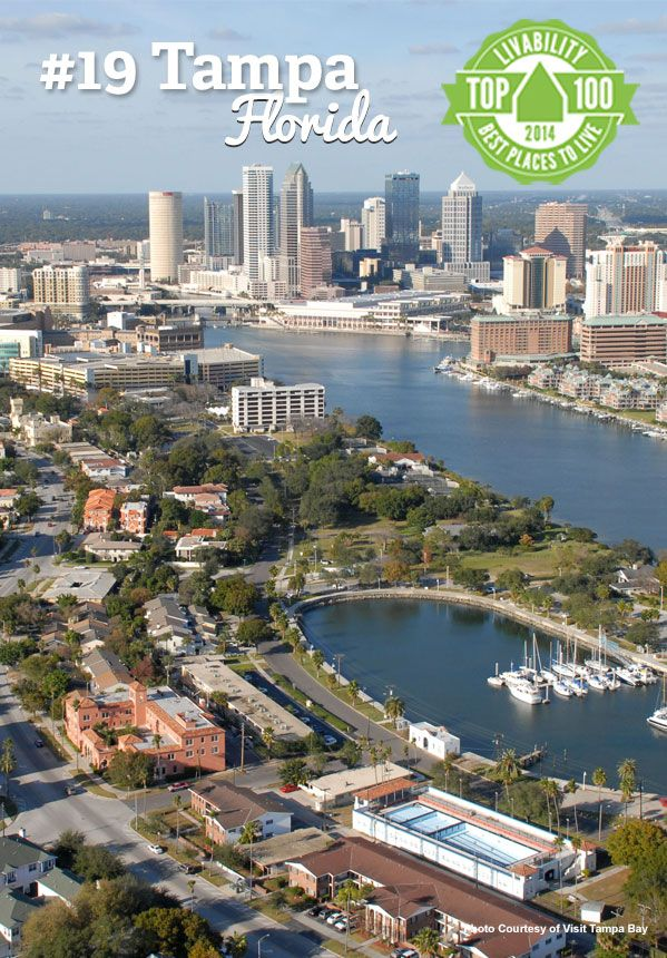 hello tampa florida 19 on our top 100 best places to live tampa rh pinterest com