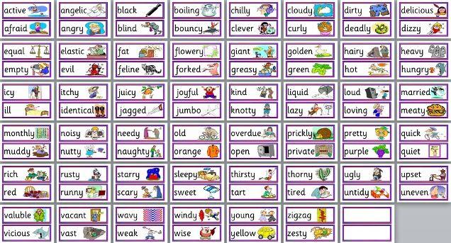 KS2 Literacy Teaching Resources - Adjectives, Adventurous Language ...