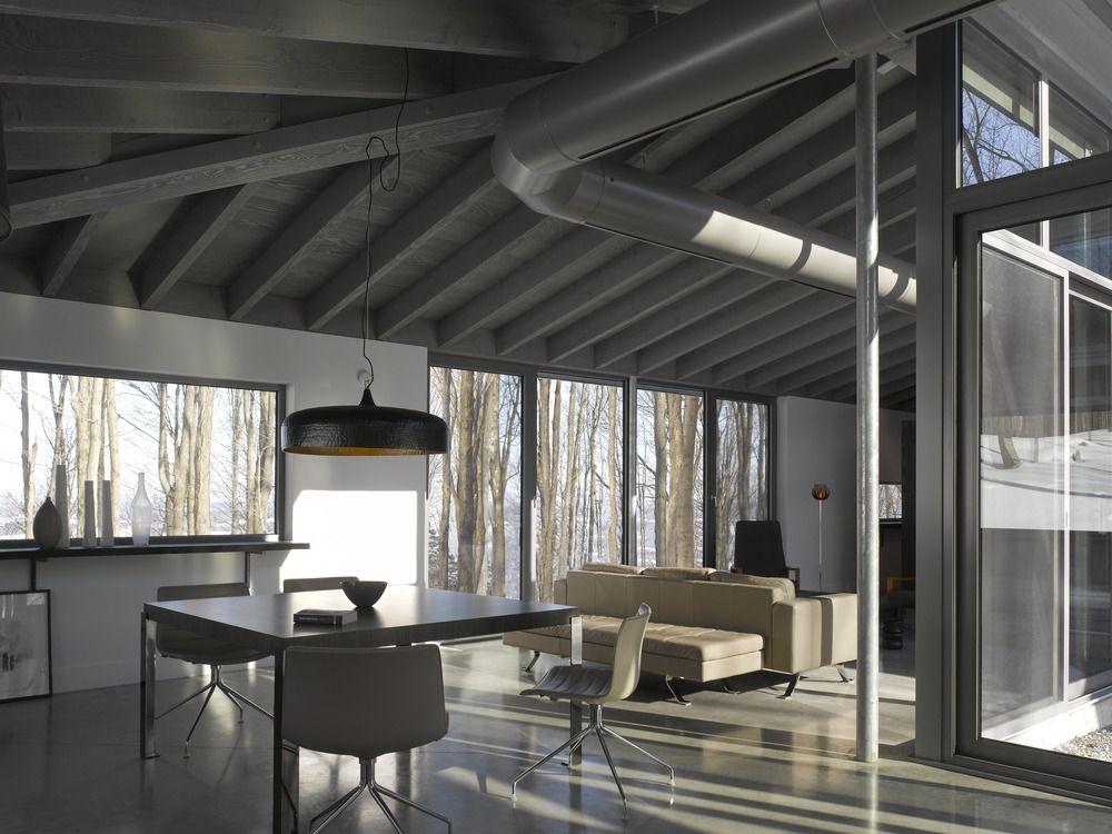 V2com Newswire | Residential Architecture | Bromont House   Paul Bernier  Architecte @James Brittain Awesome Ideas