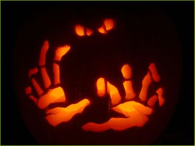 Zombie (pumpkin stencil pumpkin pattern pumpkin template.