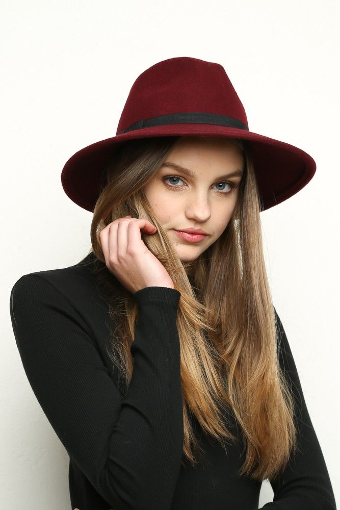 Chapeau Noir Fedora La Bible De La Mode ZjsVE0LsR
