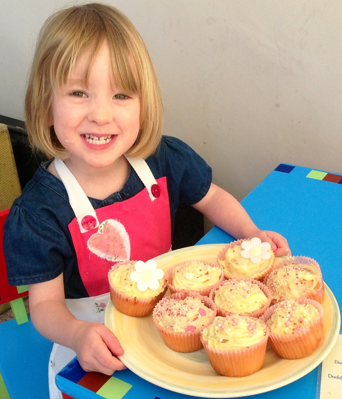 My beautiful daughters cakes baked together