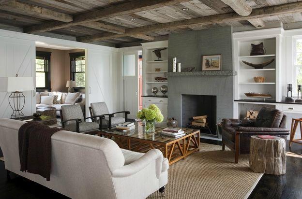 Ambiance rustique chic recherche google ambiance home decor house styles living room - Salon rustique ...