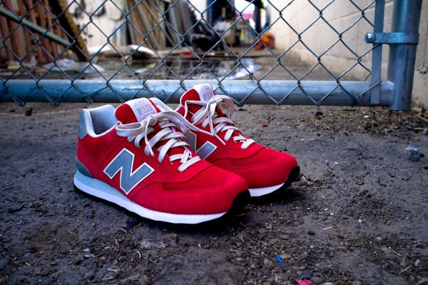 quality design bf082 0ad44 New Balance 574 Red Elite Edition | Fashionable. | New ...