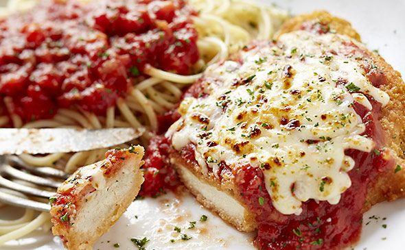Chicken Parmigiana Lunch Dinner Menu Chicken Parmesan