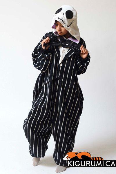 6d9fa8f5a2 Jack Skellington Onesie Kigurumi Character Costume Adult Pajamas