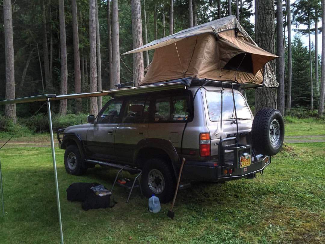Arb Rooftop Tent On Landcruiser Toyota Arb4x4usa Land Cruiser Camping