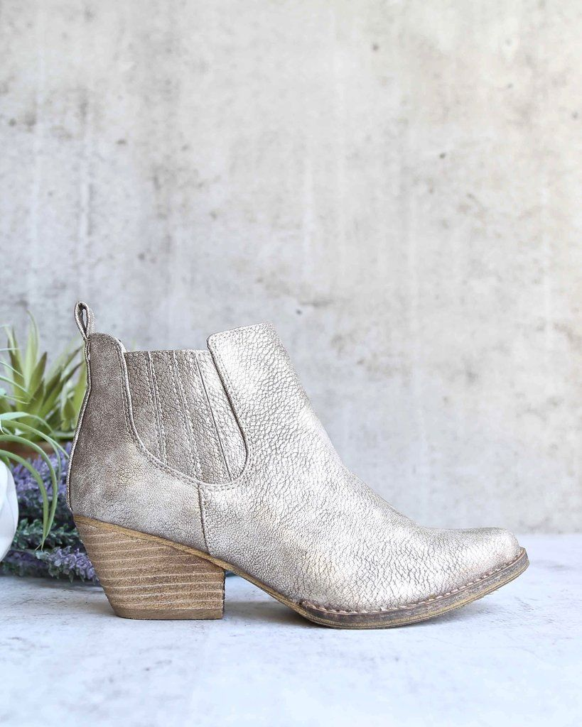 d8cf358f3a72 Very volatile - motivate - pull on western bootie - taupe