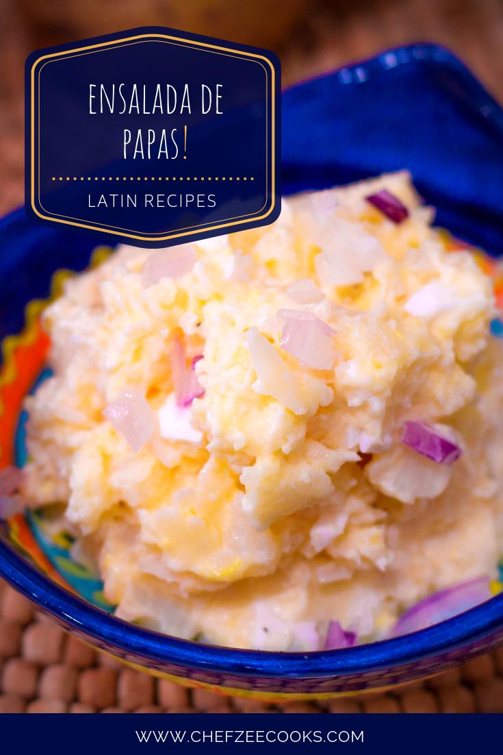 Dominican Republic Potato Salad Recipe