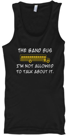 Band Bus - Not Allowed To Talk About It - Tank Top