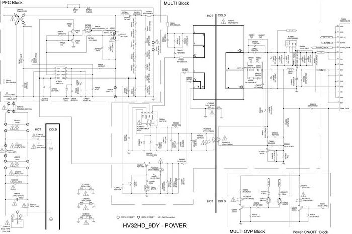 samsung lcd tv circuit schematic