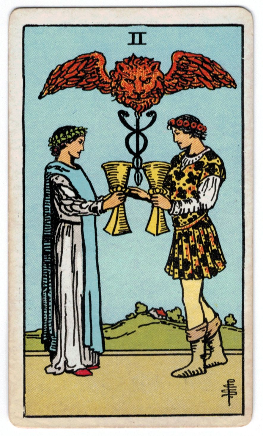 ca3d57436b5a2 Two of Cups Tarot Learning