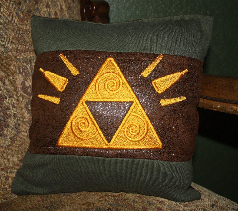 The Legend of Zelda Pillow via Etsy DIY Pinterest