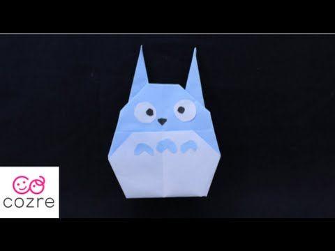 Origami Mario Characters Kinopio 折り紙 マリオ キャラクター キノピオ 折り方 Youtube トトロ 折り紙 折り紙 ディズニー 折り紙 可愛い