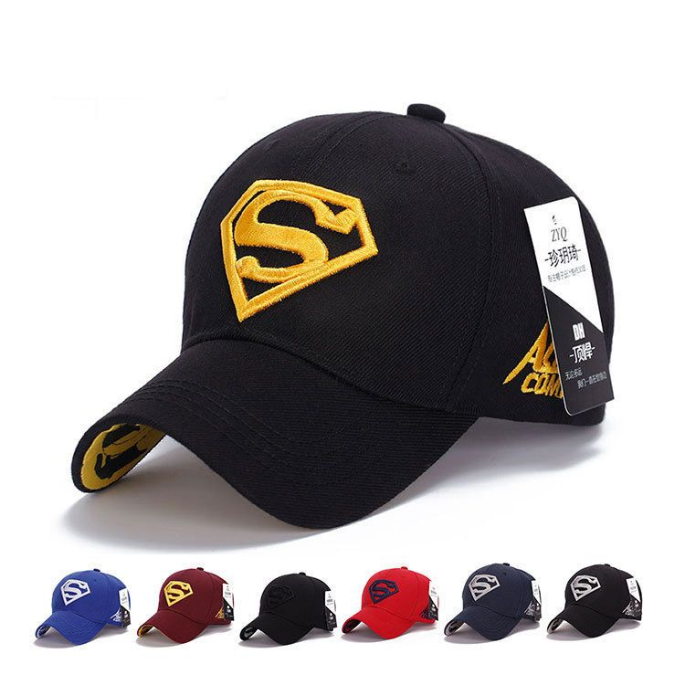 Hot Mens Superman Hip Hop Adjustable Cap Flex Fit Snapback Baseball Sport  Hat 1a54116fefb9