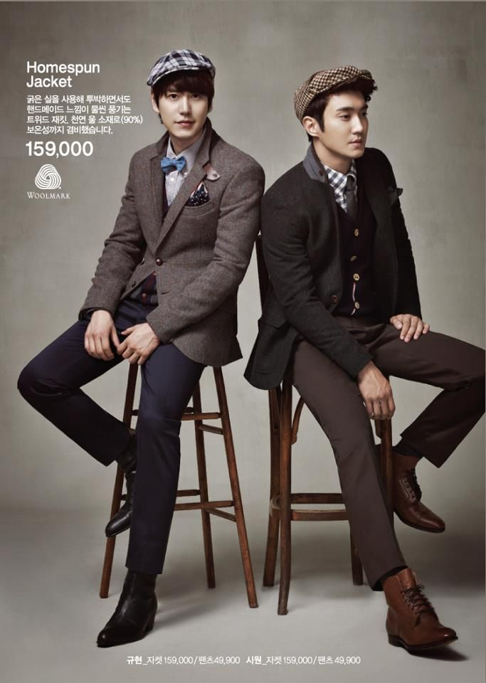 SuperJunior SPAO advertisment