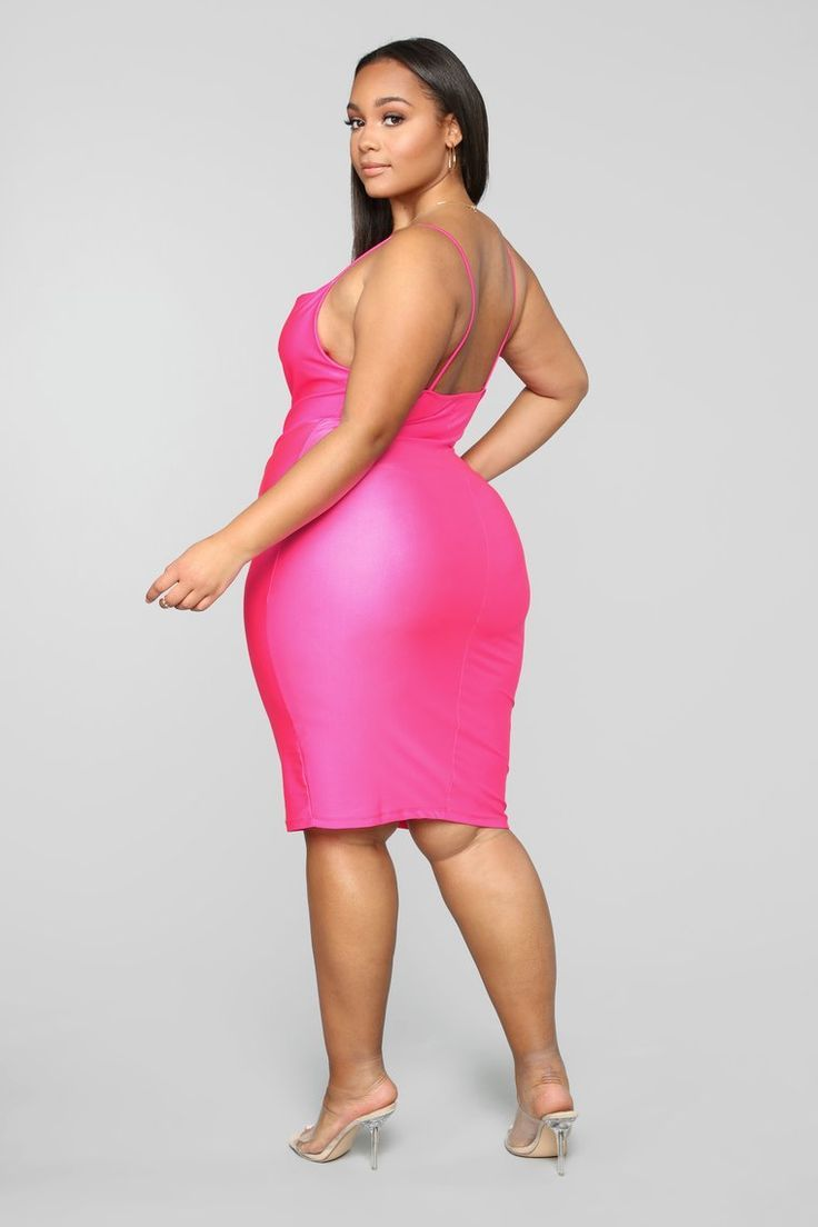 Neon Colored Plus Size Clothing Neon Green - Newest Color Trend | Curvy Fashion, Dresses