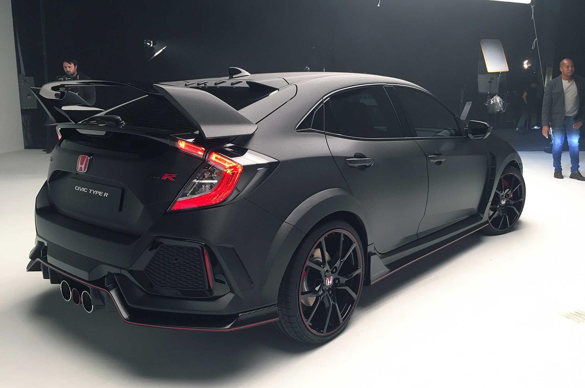 Honda civic type r rear wing Honda civic type r, Honda