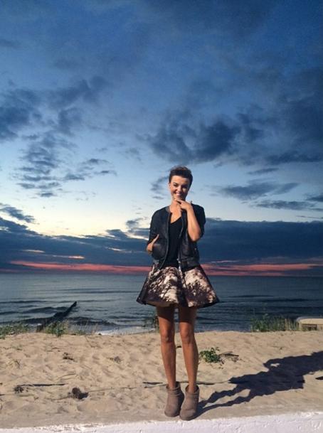 Poland's Kasia Sokolowska looks amazing in the Stinger Mini http://www.emuaustralia.com/