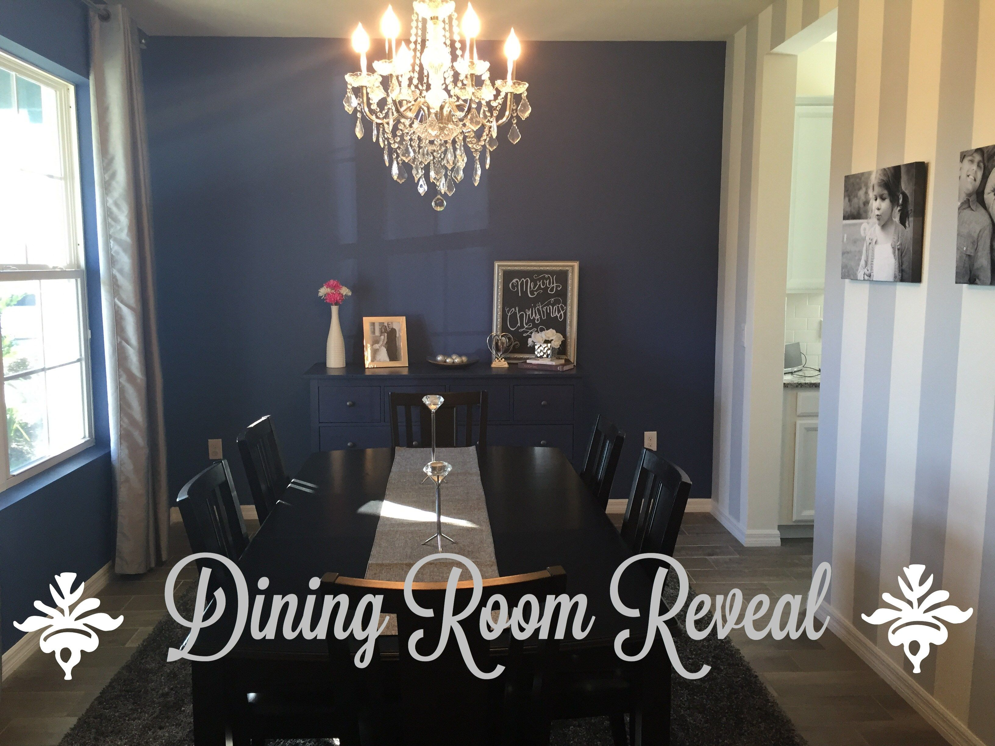 Coastal Glam Blog s Dining Room Reveal