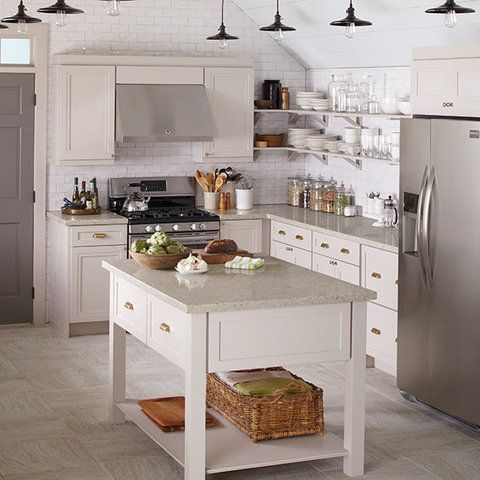 Best This Chic Gray Kitchen Features Wellston Purestyle 400 x 300